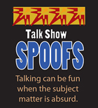 Talk Show Spoofs button