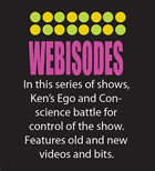 Webisodes button
