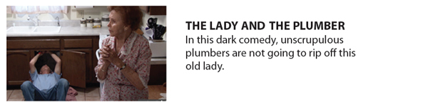 The Plumber and the Lady button